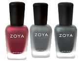 Zoya MatteVelvet Collection