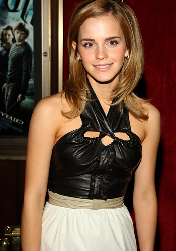 Emma Watson at HP Hollywood Premier