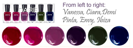 New Zoya Nail Polish Collections: Truth or Dare!
