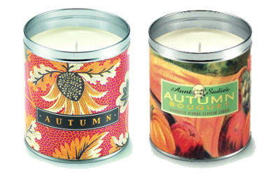 Aunt Sadie's Candles: Autumn Bouquet & Autumn Leaves