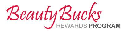 Beauty Bucks Rewards Program
