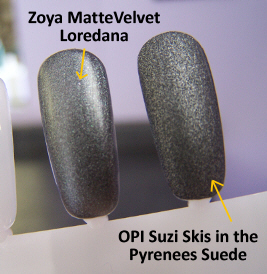 OPI Suede Collection Suzi Skis in the Pyrenees