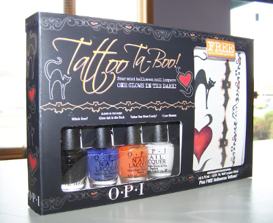Tattoo Ta-Boo OPI Nail Polish