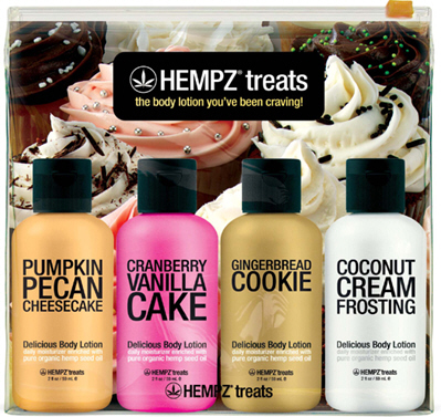 Hempz Treats Gift Bag