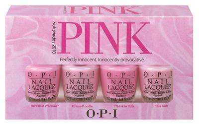 OPI Pink Mini Nail Polish Set