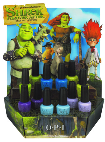 OPI Shrek Forever Collection