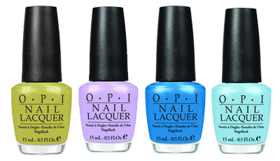 OPI Shrek Nail Lacquer Collection