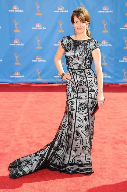 Tina Fey 30 Rock Emmys Red Carpet