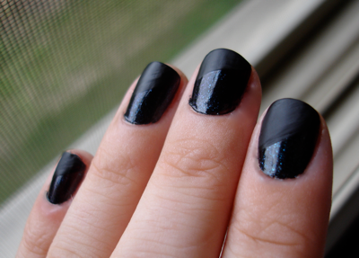 OPI Obscurity Black Matte Nail Polish Halloween
