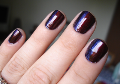 Go Goth: OPI Halloween Nail Art! | Beauty of a Site Blog