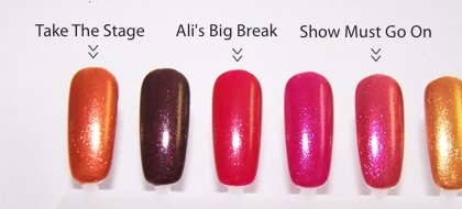 OPI Burlesque Holiday 2010 Nail Lacquer