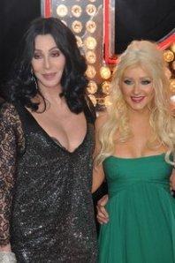 Cher, Christina Aguilera Burlesque Movie Premier