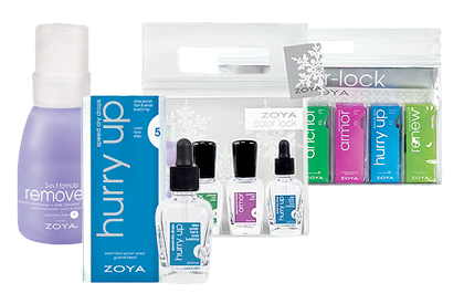 Zoya Treatments Color Lock System