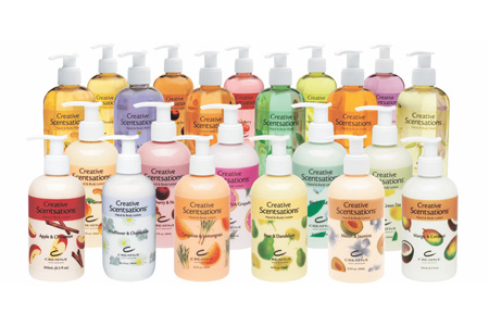 CND Creative Scentsations Lotions & Washes