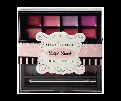 Bella Il Fiore Sugar Shack Deluxe Lip Gloss Set
