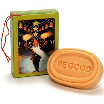 Swedish Be Good Elf Christmas Soaps