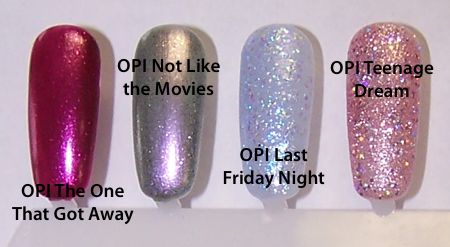 OPI Katy Perry Collection Black Shatter In Stock Pics