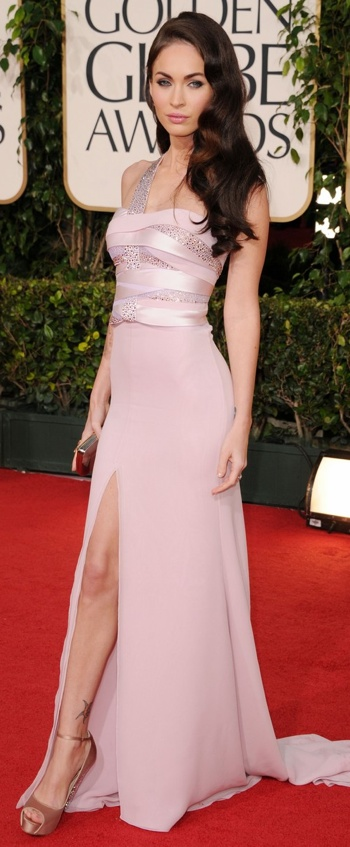 Megan Fox Golden Globe Red Carpet 2011