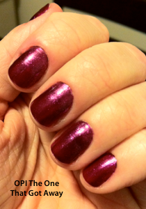 OPI The One That Got Away Katy Perry Collection