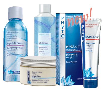 Phytolisse Shampoo, Phytolisse Mask, Phytolium Energizing Shampoo, Phytotheol Shampoo