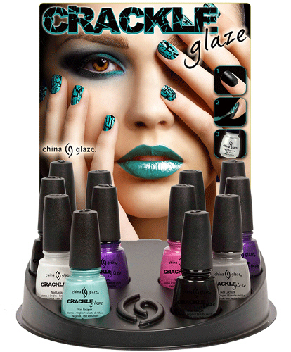 China Glaze Crackle Glaze Shatter Nail Polish Lacquer