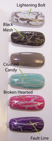 China Glaze Crackle Glaze Shatter Nail Lacquer
