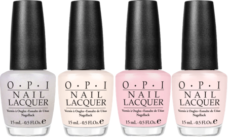 OPI Step Right Up, OPI In the Spot-Light Pink, OPI So Many Clowns, So Little Time, OPI I Juggle... Men