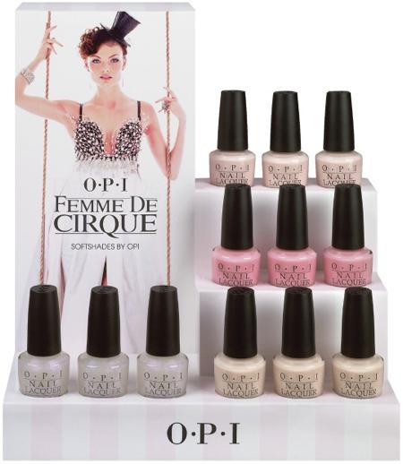OPI Femme de Cirque Soft Shades Nail Polish Nail Lacquer