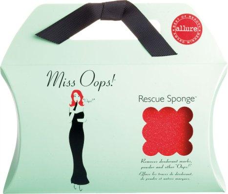 Miss Oops Rescue Sponge