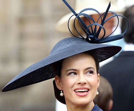 Royal Wedding Hats Sophie Winkleman, Lady Frederick Windsor