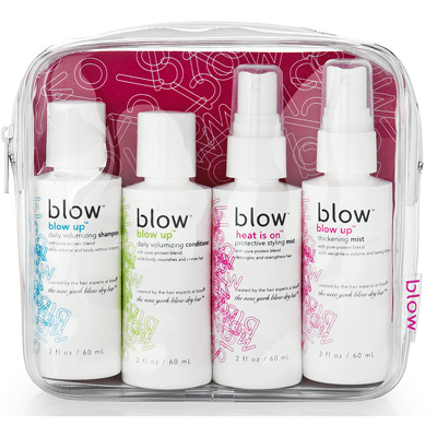 Blow Haircare Blow to Go Travel Kit Toiletries 2 oz Airplane