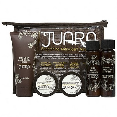 Juara Glow on the Go Travel Kit Toiletries 2 oz