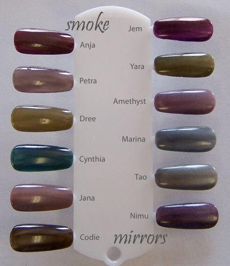 Zoya Smoke Mirrors Nail Polish Collection Nail Lacquer