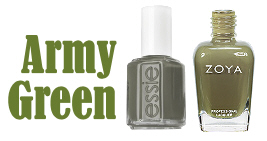 Army Green Nail Polish Trends