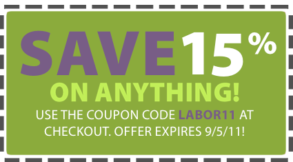 Labor Day Sale Coupon Beauty of a Site