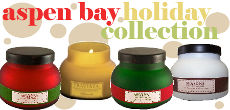 Aspen Bay Holiday Candles