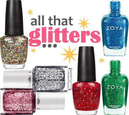 Glitter Manicure Ideas