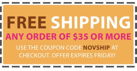 Free Shipping in November