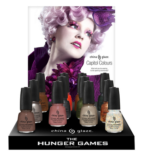 China Glaze Hunger Games: Capitol Colours