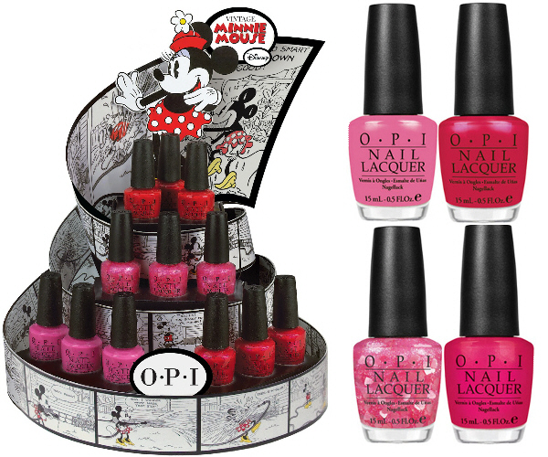 Opi Disney Minnie Mouse Collection New Beauty Of A