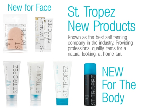 St. Tropez New Products