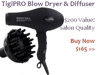 TigiPRO Blow Dryer & Diffuser