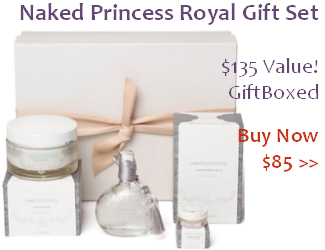 Naked Princess Royal Treatment Gift Set
