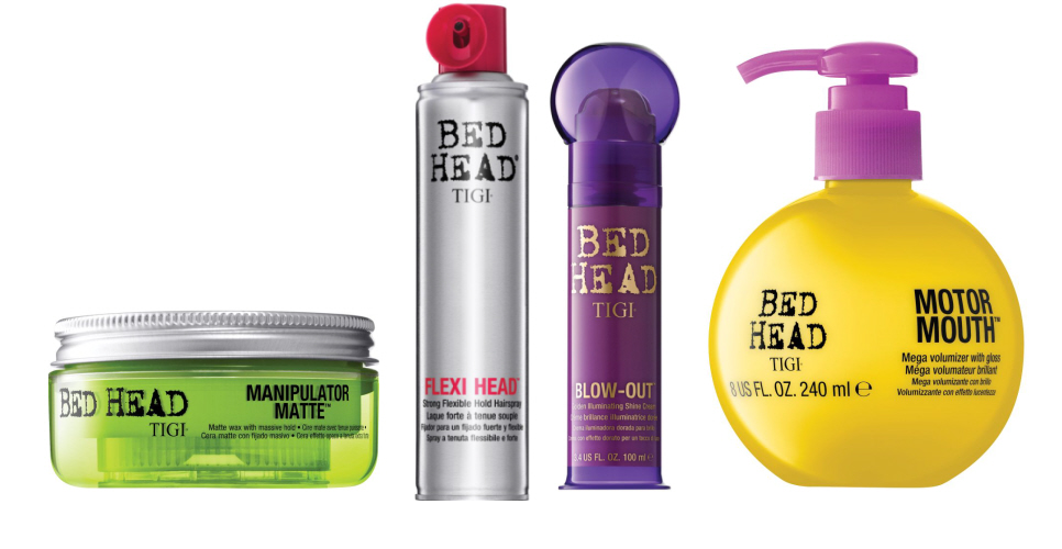 Tigi Is Turning Up Your Style With New Bed Head Creations