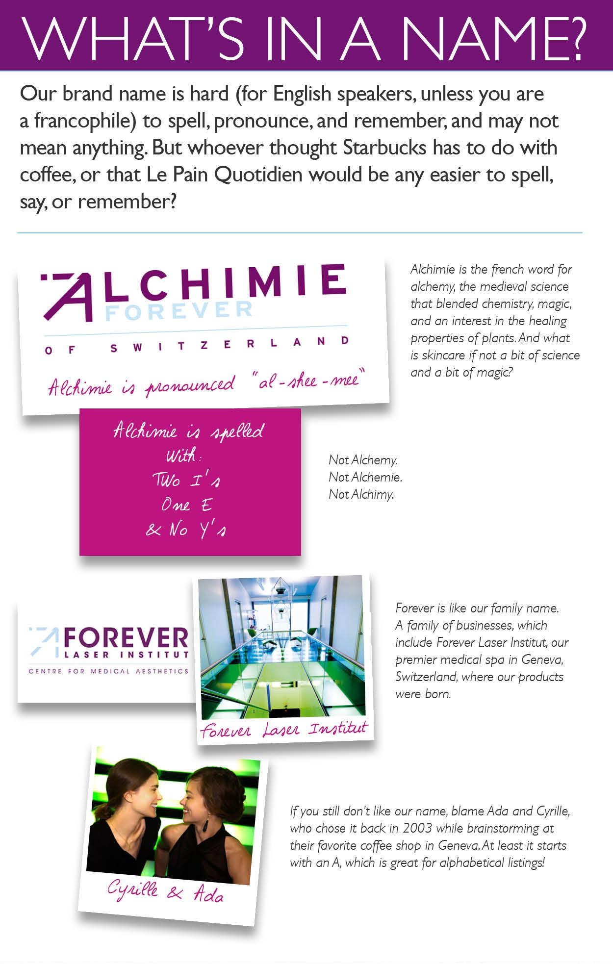 Alchimie name